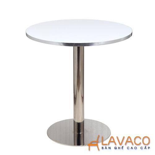 Bàn ăn, bàn cafe thân trụ ở tphcm - Lavaco
