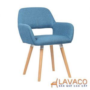 Ghế ăn ghế cafe nệm chân gỗ cao cấp - Mã: 1203BL