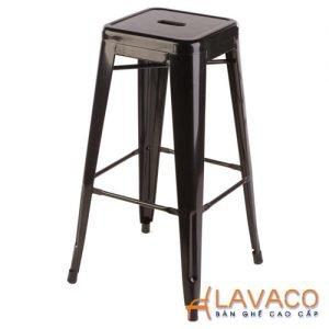 ghế bar tolix chan cao không lưng dựa
