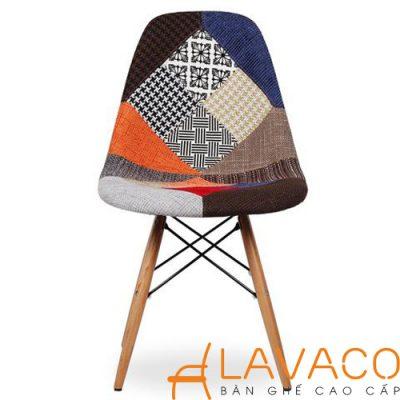 Sản phẩm ghế cafe Eames nệm bọc vải đẹp và giá rẻ ở TPHCM tại Lavaco - Mã: 1219