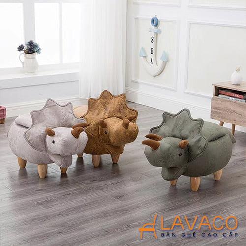 Ghế thú cưng dễ thương hình tê giác