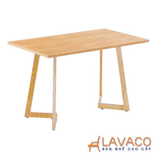 Bán bàn cafe, bàn ăn gỗ 4 chân kiểu TPHCM - Mã: 2104Y - Lavaco