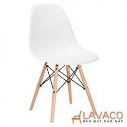 ghế ăn, ghế cafe nhựa chân gỗ đẹp ở tp.hcm