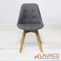 Ghế ăn ghế cafe nệm chân gỗ cao cấp - Mã: 1202G