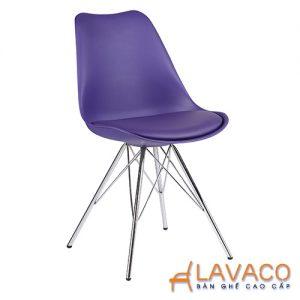 Ghế cafe ghế ăn nhựa màu tím - Mã: 1212PE