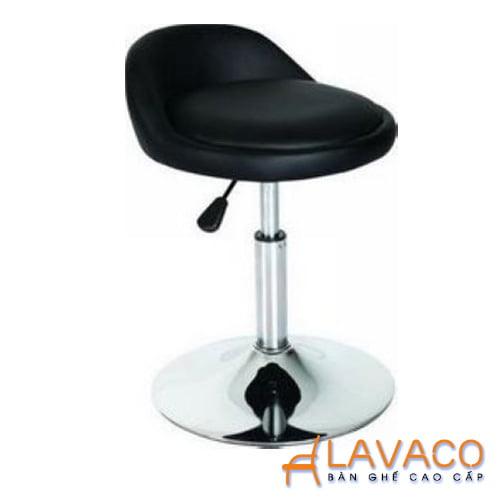 Ghế quầy bar chân trụ xoay đẹp giá rẻ ở TPHCM - Mã: 411l - LAVACO