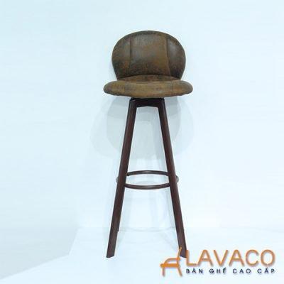 Ghế bar gỗ 4 chân cao - Mã: 4209BN
