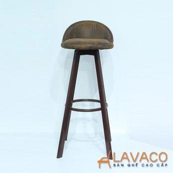 Ghế bar gỗ 4 chân cao - Mã: 4210BN