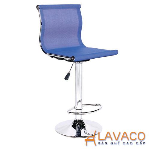 Ghế bar chân trụ vải lưới giá rẻ ở TPHCM - LAVACO - Mã: 4214BL