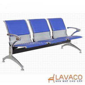 Ghế băng chờ 3 ghế lót nệm - Mã: 8205BL