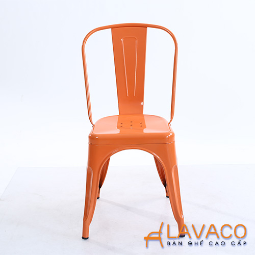 Ghế tolix dựa màu cam - Mã: 3203O