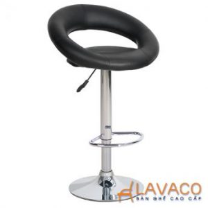 Ghế bar nệm da chân trụ cao - Mã: 4229B