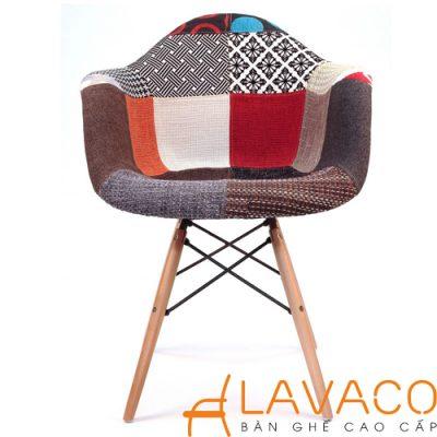 Sản phẩm ghế cafe Eames Daw nệm bọc vải đẹp và giá rẻ ở TPHCM - Mã: 209TC - LAVACO