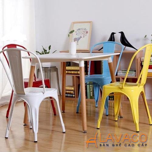 Bộ bàn ăn 4 ghế, bộ bàn cafe hiện đại ở TPHCM - Lavaco