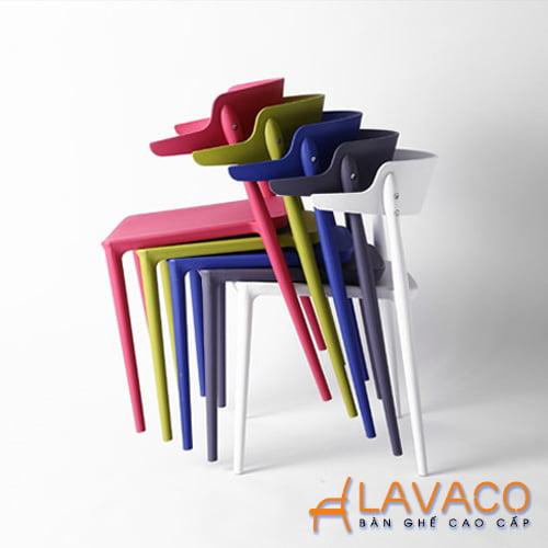 Ghế cafe nhựa đúc hiện đại nhập khẩu giá rẻ Mã 231 - Lavaco