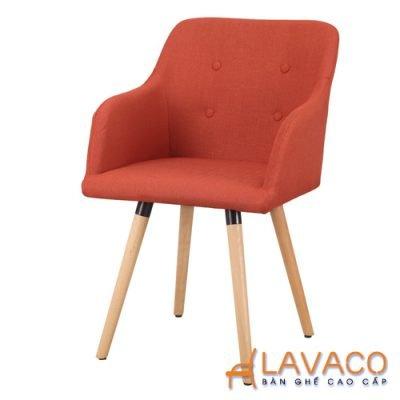 ghế cafe nệm chân gỗ cao cấp nhập khẩu giá rẻ tp hcm