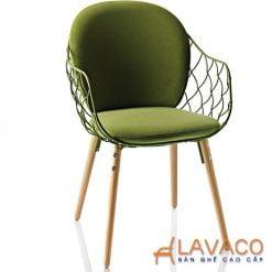 ghế ngồi thư giản lưng lưới lót nệm ngồi và lưng đẹp Lavaco