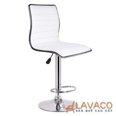 Ghế quầy bar nệm lưng cao chân nâng hạ - Mã 432 - Lavaco