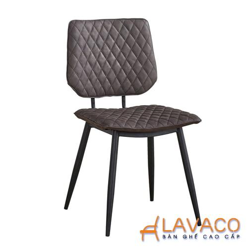 Ghế cafe, ghế ăn phong cách vintage nhập khẩu cao cấp Lavaco- Mã 238 - LAVACO
