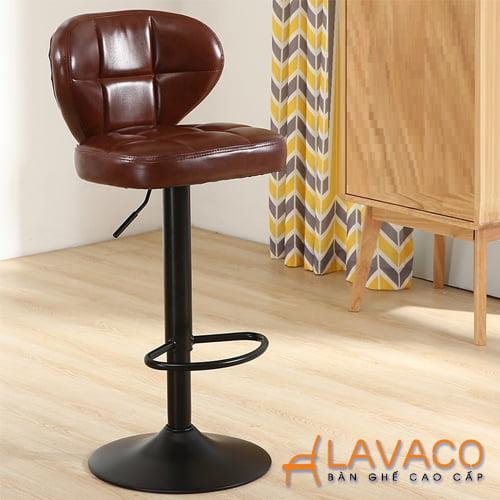Ghế nệm ngồi bàn trang điểm chuyên nghiệp chân cao- Mã 431A