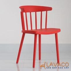 Ghế nhựa nhiều màu cho quán trà sữa
