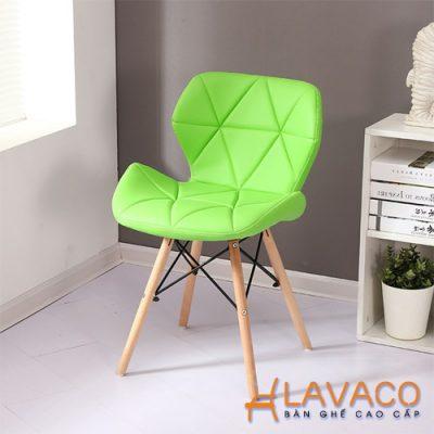 Hình ảnh: Ghế phòng ăn lưng bọc nệm chân gỗ