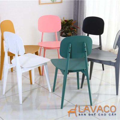 Bộ bàn ăn mặt kính 4 ghế hiện đại Lavaco T154-4×257 (Ảnh 4)