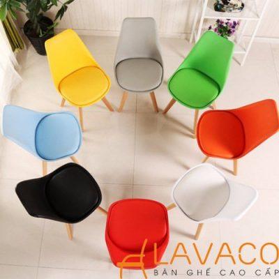 Bộ bàn vuông 4  ghế phòng ăn kiểu dáng hiện đại Lavaco T154-4×205 (Ảnh 3)