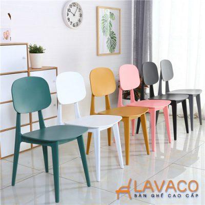 Bộ bàn ăn mặt kính 4 ghế hiện đại Lavaco T154-4×257 (Ảnh 3)
