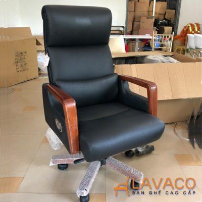 Ghế xoay văn phòng cao cấp cho giám đốc Lavaco 552 (Ảnh 2)