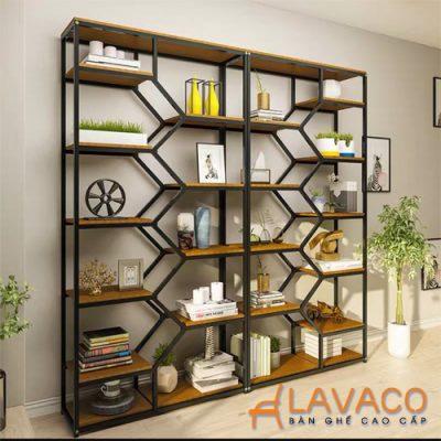 Kệ đôi trang trí phòng khách Lavaco DK901 (Ảnh 3)