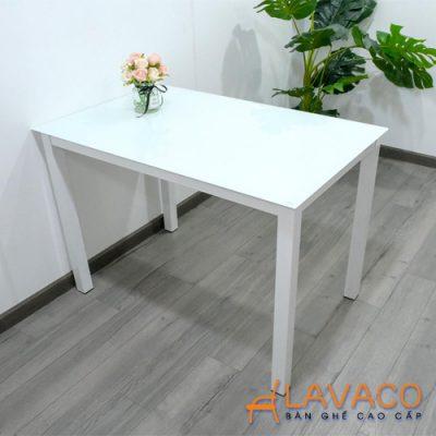 Bộ bàn vuông 4  ghế phòng ăn kiểu dáng hiện đại Lavaco T154-4×205 (Ảnh 2)