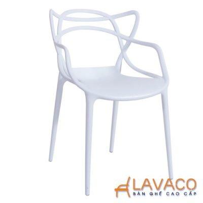 Bộ bàn ăn vuông 4 ghế chân gỗ hiện đại Lavaco T108S-4×295 (Ảnh 6)