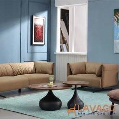 Bộ đôi bàn sofa tròn nhập khẩu