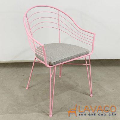 Ghế café sắt sơn tĩnh điện ngoài trời bền đẹp