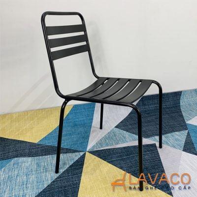 Ghế cafe sắt sơn tĩnh điện nhiều màu