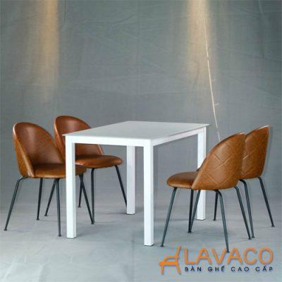 Bộ bàn ăn 4 ghế hiện đại nhập khẩu