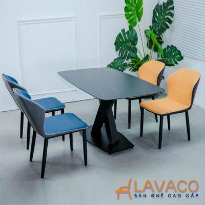 Bộ bàn ăn cao cấp mặt đá 4 ghế