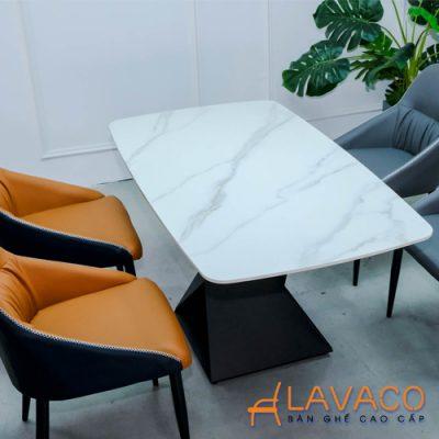 Bộ bàn phòng ăn 4 ghế mặt đá nhập khẩu
