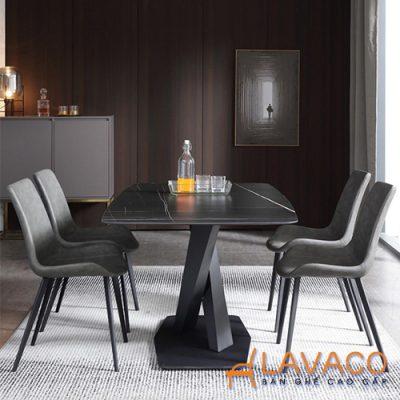 Bộ bàn ăn mặt đá 4 ghế cao cấp