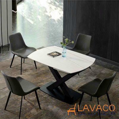 Bộ bàn ăn thông minh 4 ghế gấp gọn