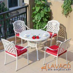 Bộ bàn ghế sân vườn ngoài trời cho resort