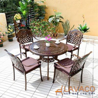 Bộ bàn ghế ngoài trời cho resort