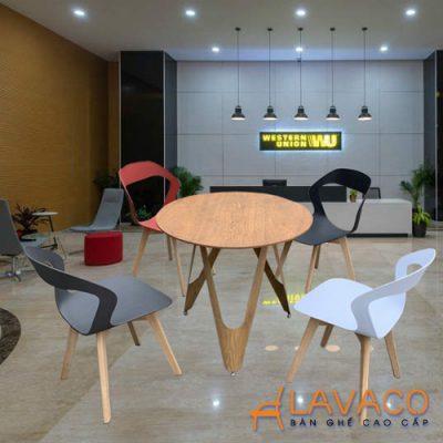 Bộ bàn tiếp khách showroom hiện đại