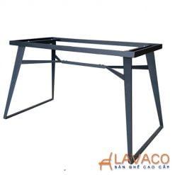 Chân bàn ăn thép sơn tĩnh điện cao cấp
