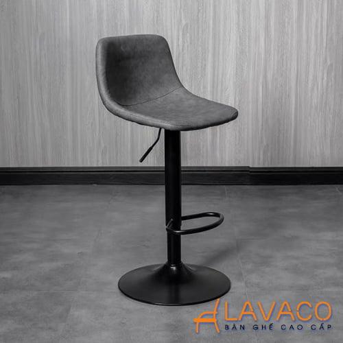 Ghế quầy bar chân sắt tăng giảm độ cao