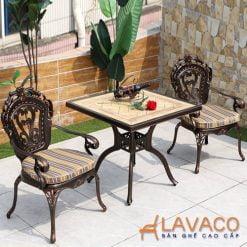 Bộ bàn ghế sân vườn 2 ghế cao cấp