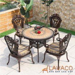 Bộ bàn ghế sân vườn biệt thự cổ điển