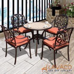 Bộ bàn ghế sân vườn tân cổ điển