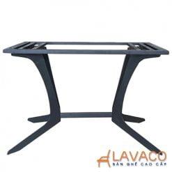Chân bàn ăn sắt sơn tĩnh điện nhập khẩu